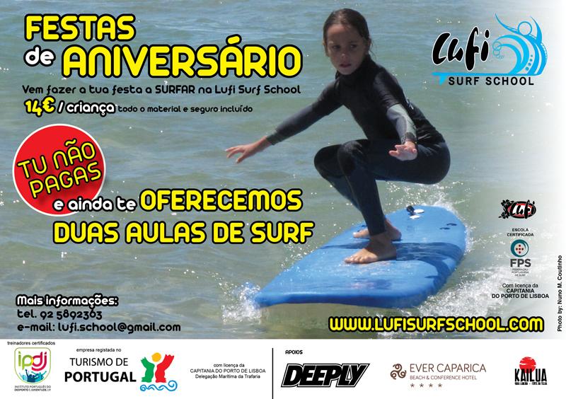 Lufi Surf School - Escola Surf - Caparica - aniversários