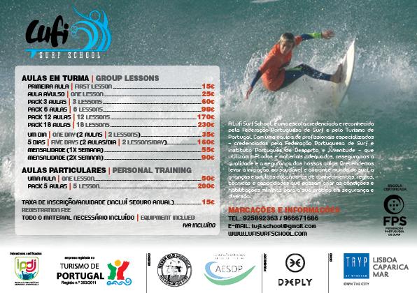 Precário 2018 Lufi Surf School aulas de surf Caparica
