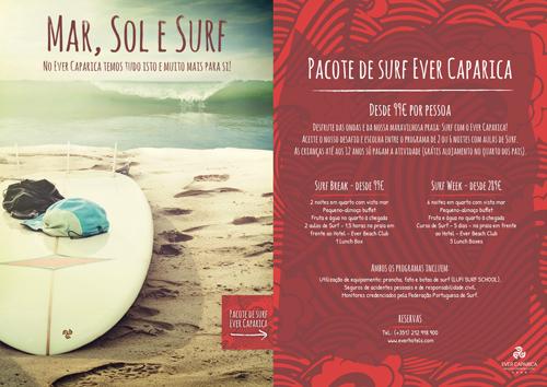 Programas de surf com alojamento